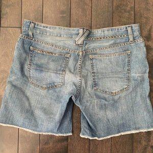 Gap Denim Shorts Embellished